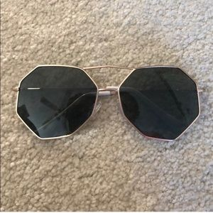 Nasty Gal Accessories - Nasty Gal From all sides Hexagonal Shades